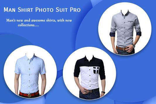 Man Shirt Photo Suit : Formal Photo Maker poster