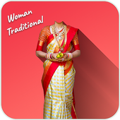 Woman Traditional Dracess icon