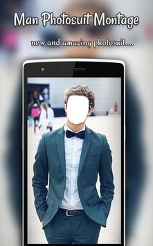 Man Photo Suit Montage poster