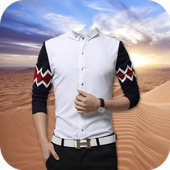 Man Shirt Photo Suit icon