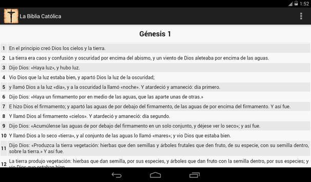 La Biblia Católica screenshot 9