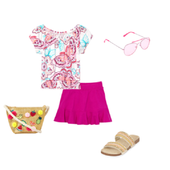 summer lookbook outfit ideas icon