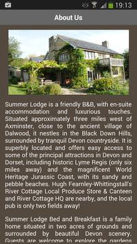 Summer Lodge Devon B&B Hotel screenshot 2
