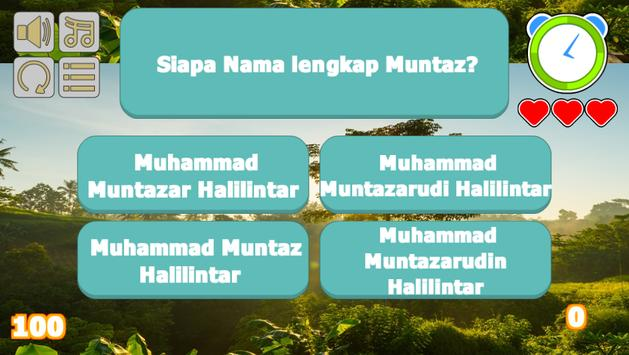 Muntaz Halilintar Trivia screenshot 2