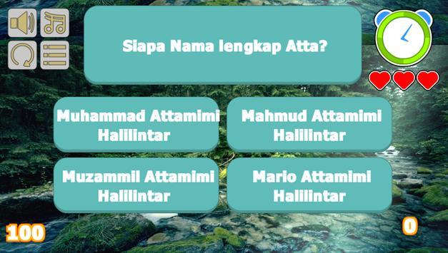 Atta Halilintar Trivia screenshot 4