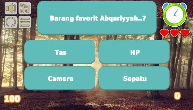 Abqariyyah Halilintar Trivia screenshot 4