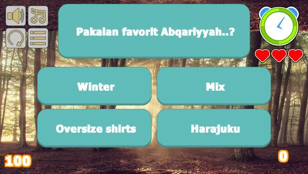 Abqariyyah Halilintar Trivia screenshot 2