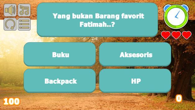 Fatimah Halilintar Trivia screenshot 4