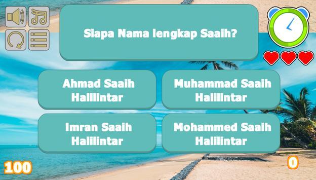 Saaih Halilintar Trivia poster