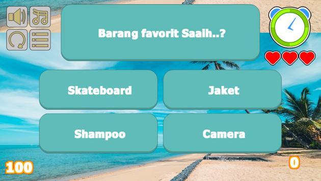Saaih Halilintar Trivia screenshot 1