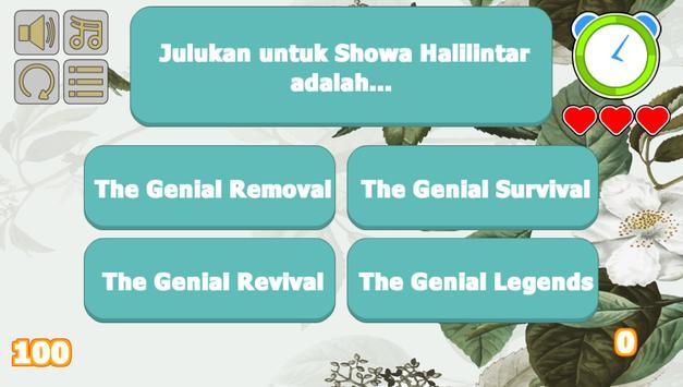 Sohwa Halilintar Trivia Game screenshot 1