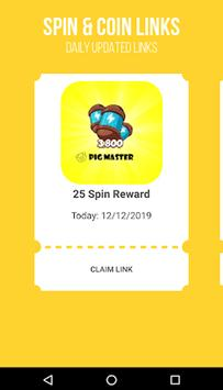 Pig master Free Coin and Spin Guide poster