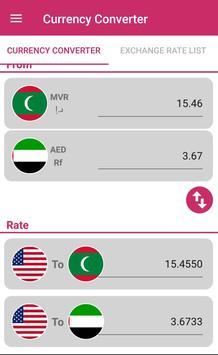 US Dollar To Maldivian Rufiyaa and AED Converter screenshot 2