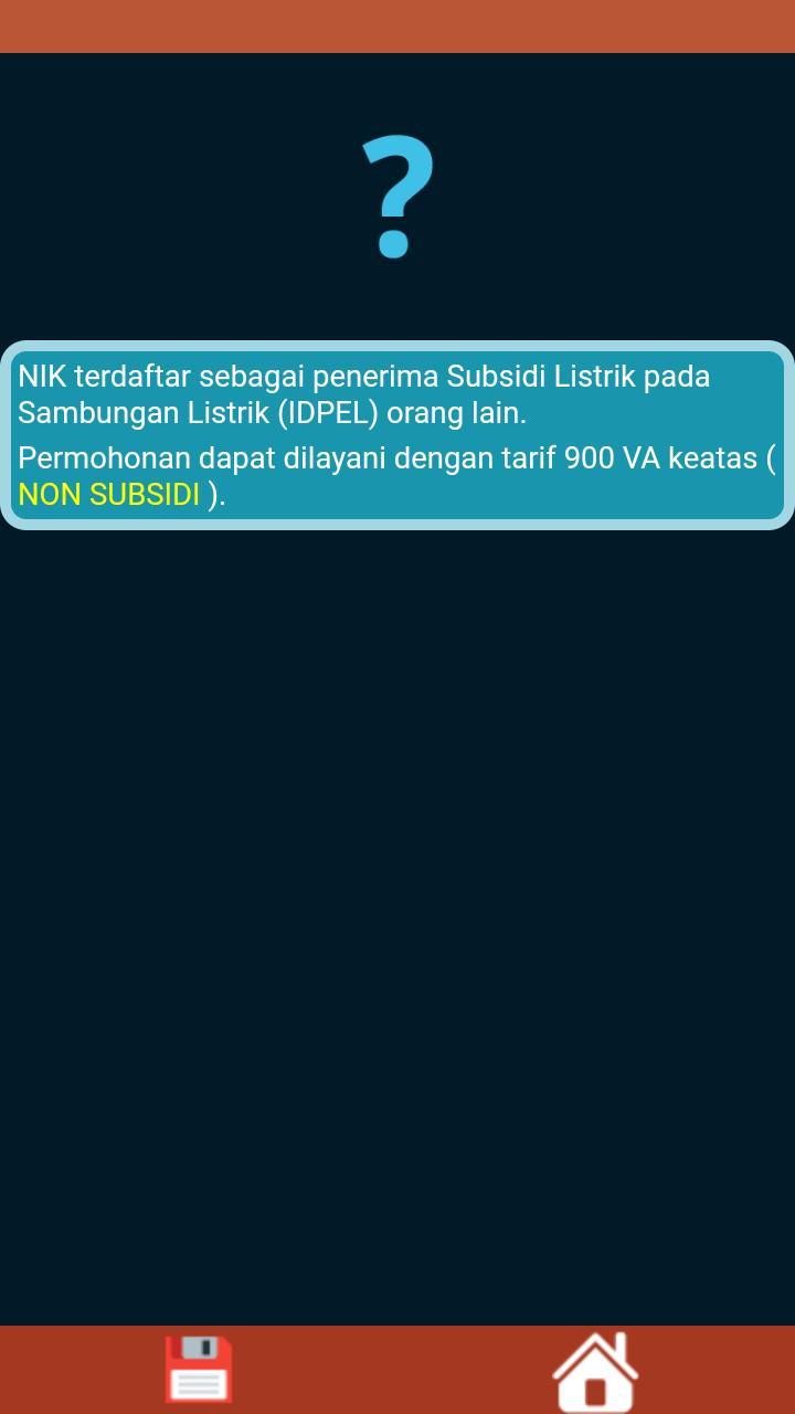 Cek Subsidi Listrik For Android Apk Download