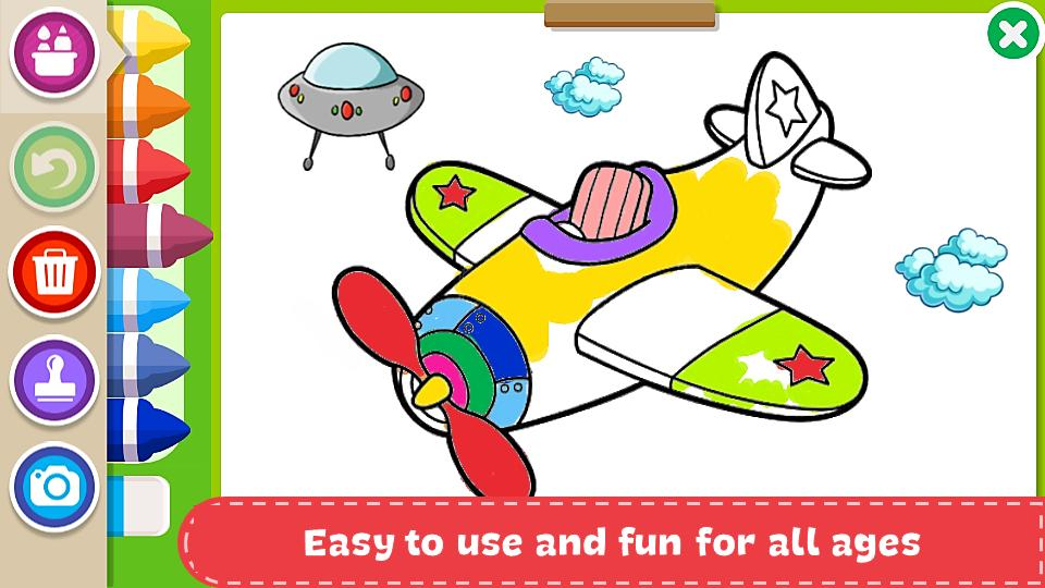 Coloring Book Kids Paint For Android Apk Download