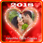 Valentine Photo Frames 2018 icon