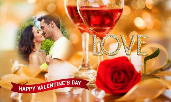 Valentine Photo Frames 2018 poster
