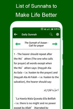 Sunnah of Holy Prophet (PBUH) - Everyday Guidance screenshot 2