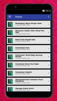 Khutbah Jumat Terbaru Offline poster