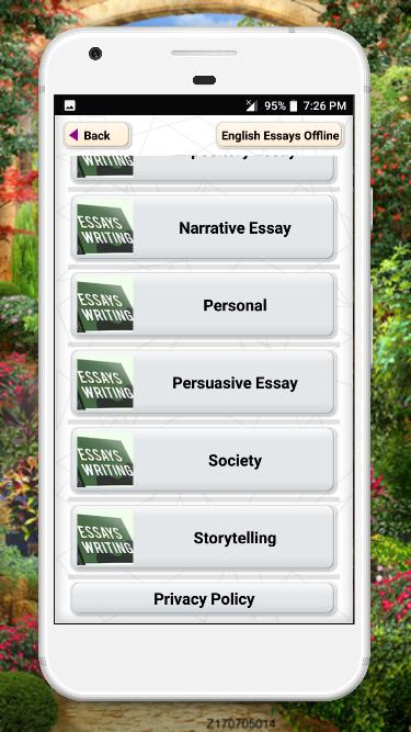 English Essay Writing Book Free App for Android - APK Download