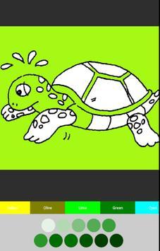 어린이 색칠놀이 - 유아 미술 색칠공부 screenshot 2