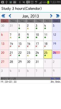 Goals Calendar screenshot 3
