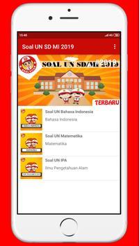 Soal UN SD MI 2019 poster