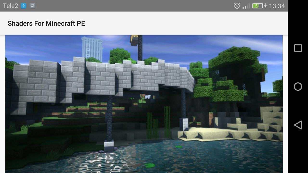 Pacote Shader para Minecraft PE para Android - APK Baixar