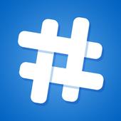 Hashtags for promotion ikona
