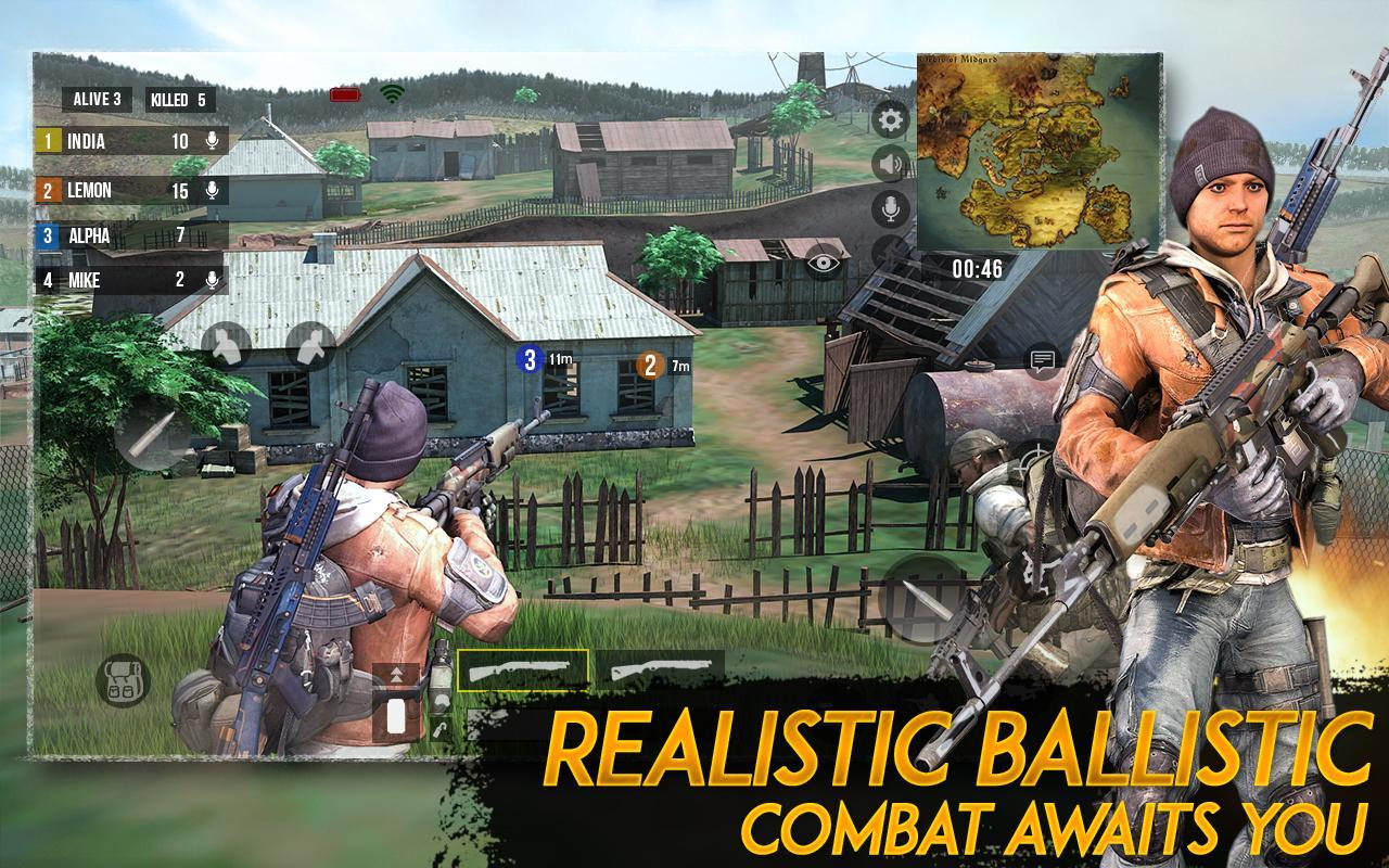 Epic Free Fire Survival Battlegrounds Shooting for Android ... -