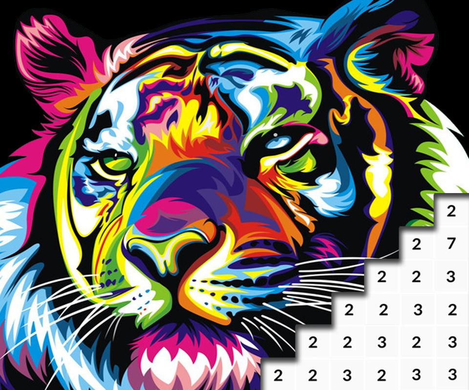 Animals Color By Number Animal Pixel Art For Android Apk