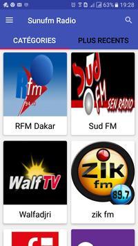 Sunufm Radio poster