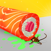 Icona Sushi Roll 3D