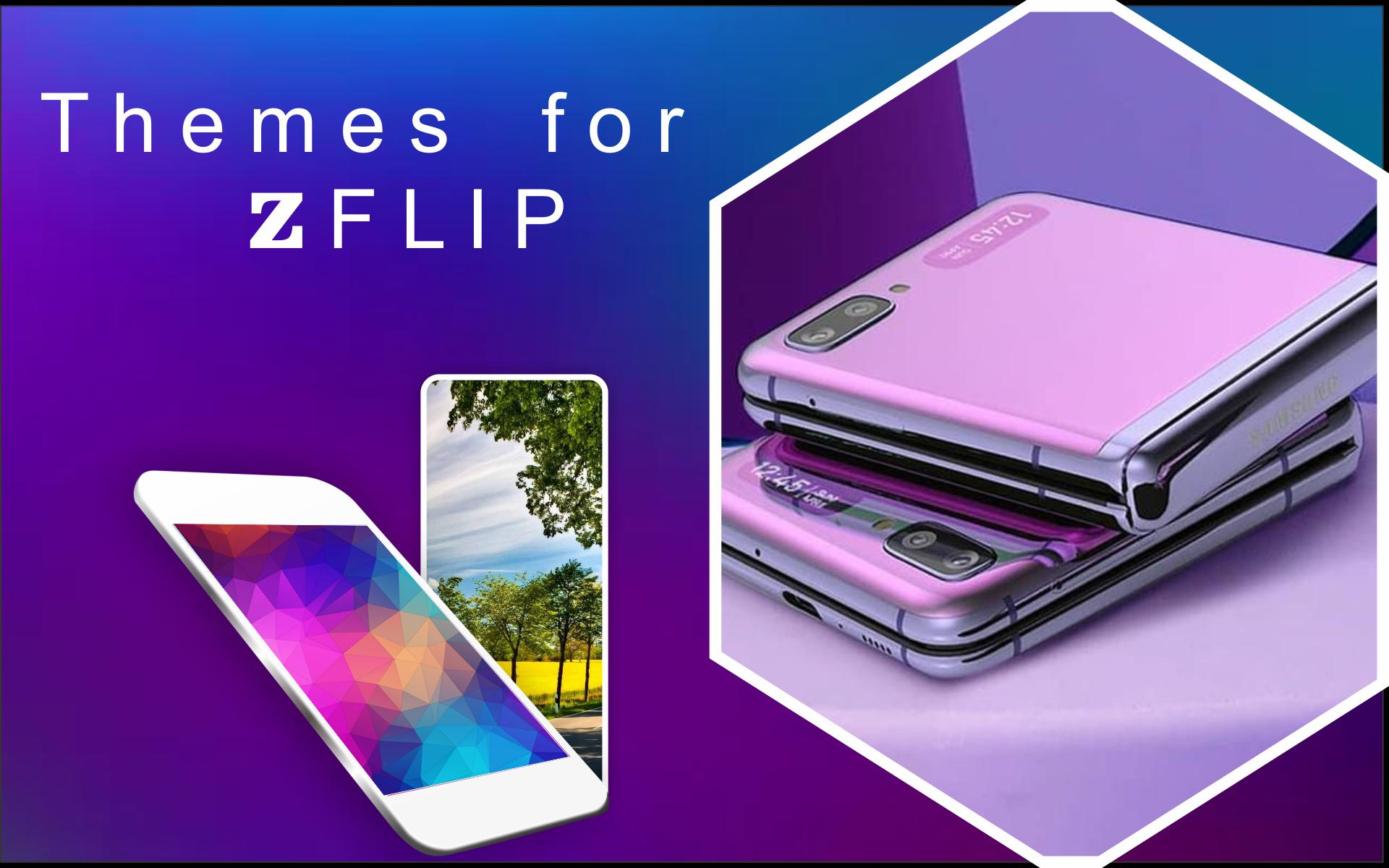 Themes For Samsung Z Flip Z Flip Wallpaper Hd For Android Apk Download