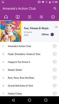 Amanda's Action Club screenshot 1
