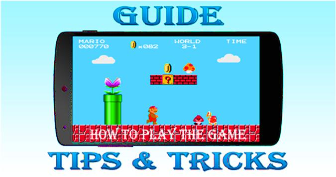 Guide for Super Mario poster