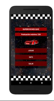 Supercoches Quiz - Coches Deportivos poster
