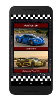 Supercoches Quiz - Coches Deportivos screenshot 2
