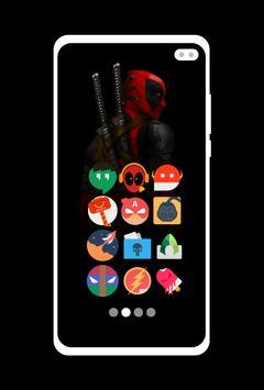Supercons - The Superhero Icon Pack screenshot 1