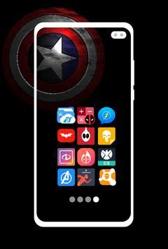 Supercons - The Superhero Icon Pack screenshot 3