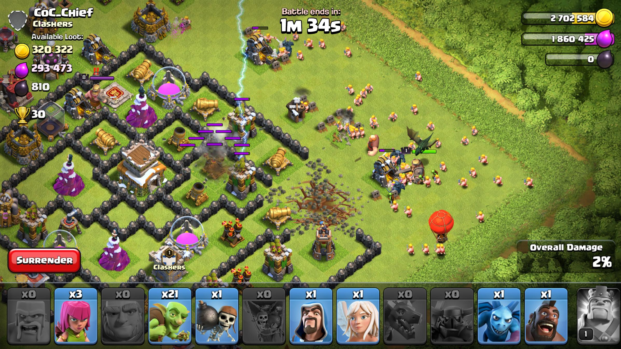 Clash of Clans for Android   Download World No.1 Epic combat strategy game  APK file for Android