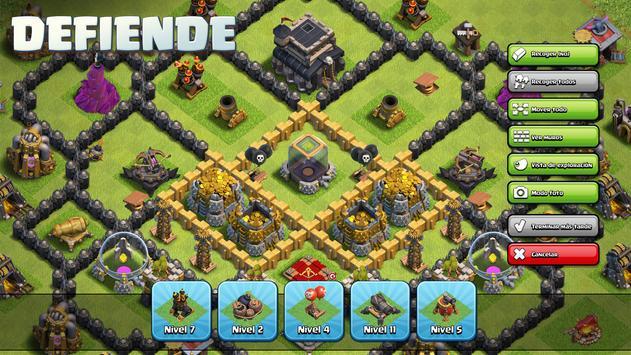 Clash of Clans captura de pantalla 1