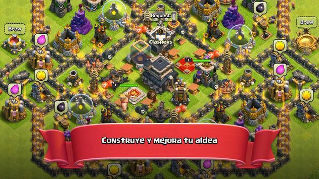 Clash of Clans captura de pantalla 3