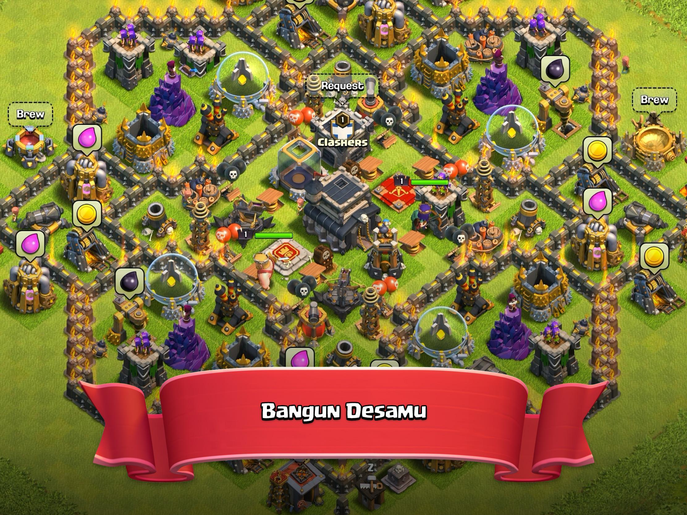Clash Of Clans For Android Download World No 1 Epic Combat Strategy Game Apk File For Android