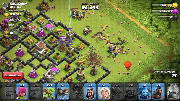 clash of clans top players cheating