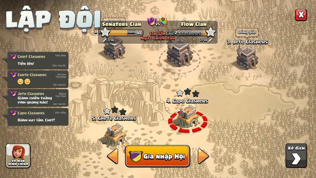 Clash of Clans ảnh chụp màn hình 9