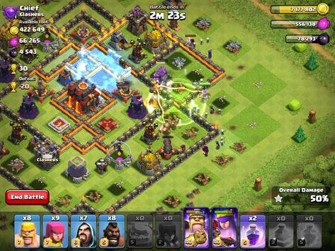 Clash of Clans captura de pantalla 12
