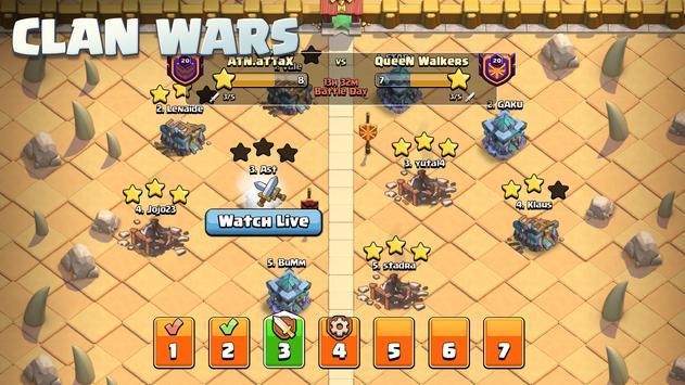 Clash of Clans تصوير الشاشة 19