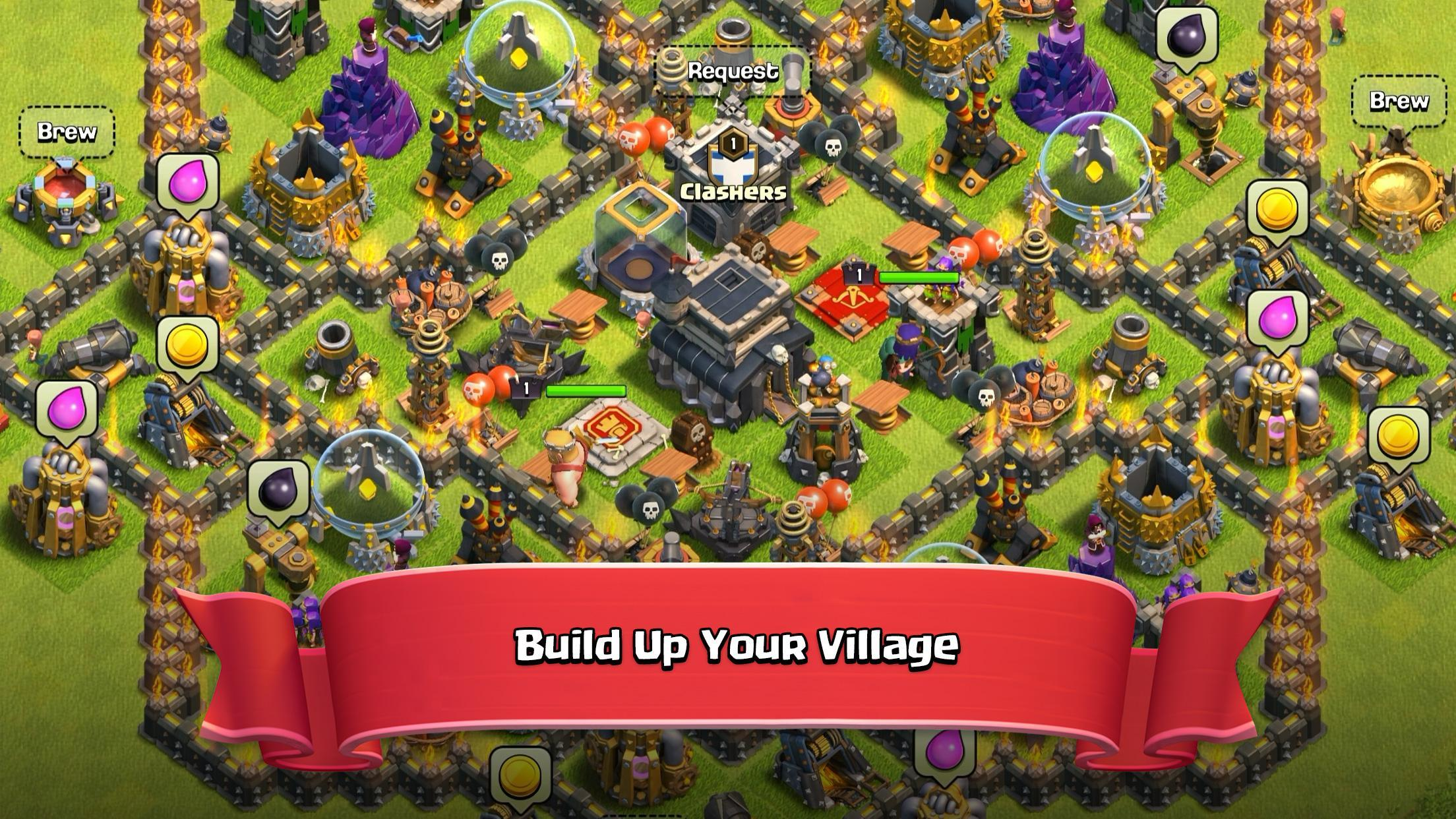 Clash of Clans for Android | Download World No 1 Epic combat