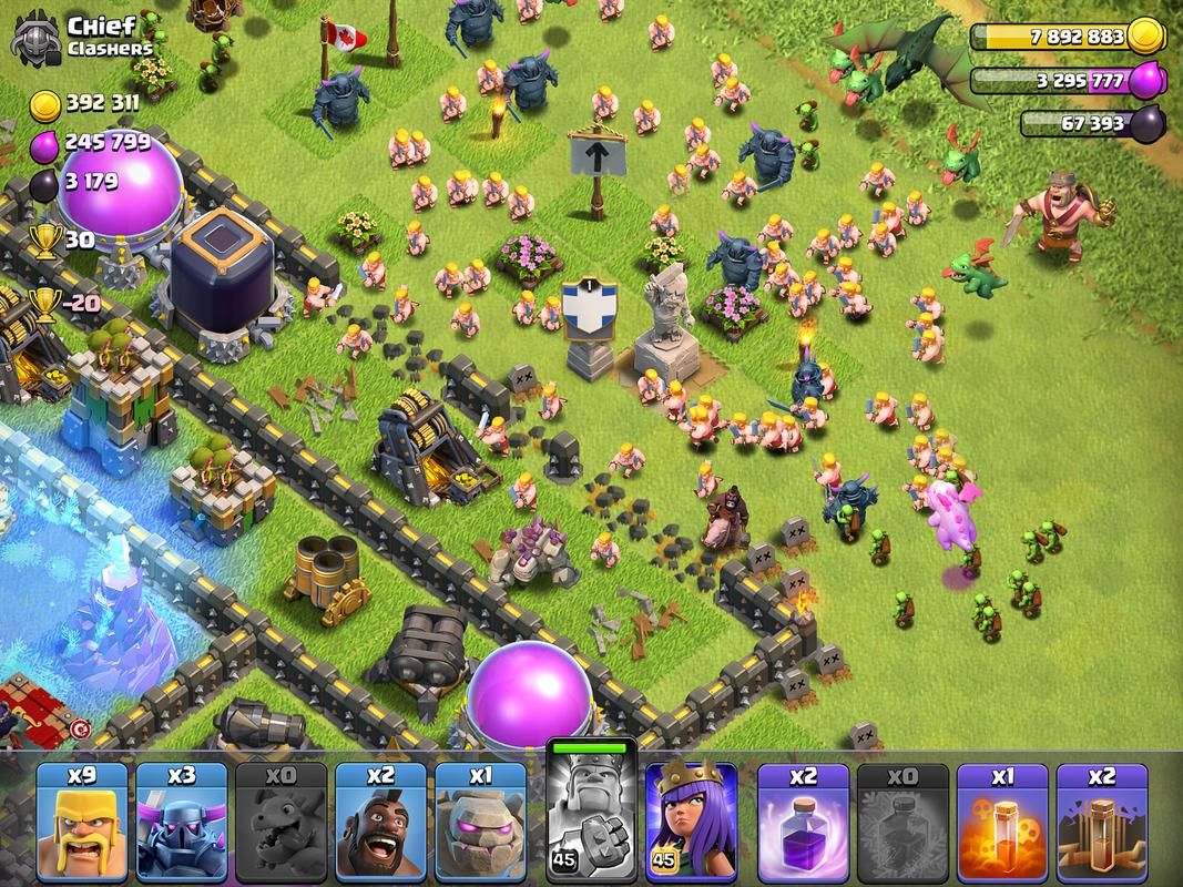 clash of clans for android apk download